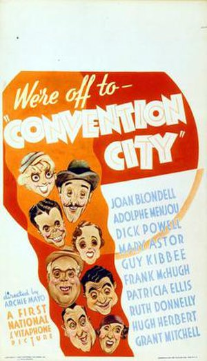 Convention City - Image: Convention City Film Poster