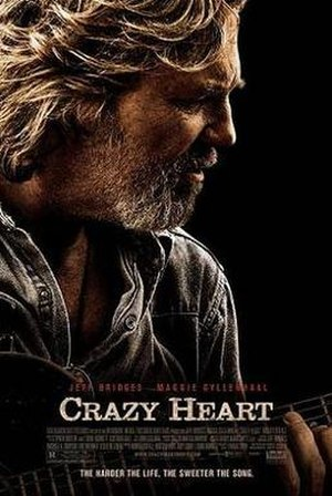 Crazy Heart - Theatrical release poster