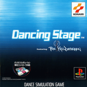 Dancing Stage - Dancing Stage featuring True Kiss Destination for the Japanese PlayStation
