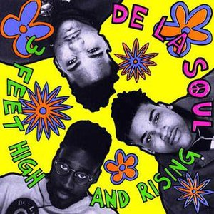 3 Feet High and Rising - Image: De La Soul 3Feet Highand Risingalbumcover
