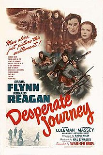 <i>Desperate Journey</i> 1942 film by Raoul Walsh
