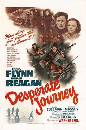 Desperate Journey - 1942 Theatrical poster
