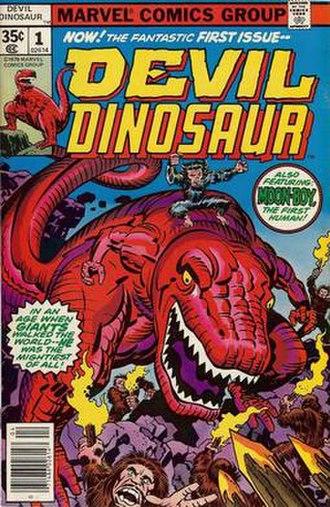Devil Dinosaur - Image: Devildino