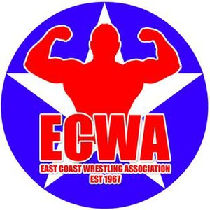 East Coast Wrestling Association - Image: East Coast Wrestling Association logo