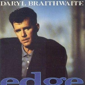 Edge (Daryl Braithwaite album) - Image: Edgebraithwaite