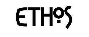 Ethos Magazine - Image: Ethos Magazine logo, large, black and white version, 2012