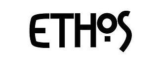 Ethos Magazine - Image: Ethos Magazine logo, large, black and white version, 2012