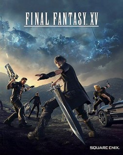 <i>Final Fantasy XV</i> action role-playing video game