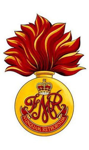 Les Fusiliers Mont-Royal - Image: FMR Badge