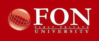 FON University - Image: FON University logo