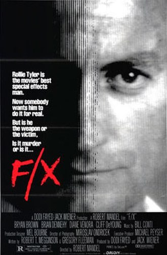 F/X - Theatrical release poster