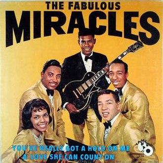 Marv Tarplin - Image: Fabulousmiracles lpcover 19