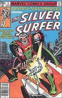 Stranger (comics) supervillain