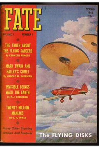 Fate (magazine) - March 1948 issue of Fate.