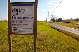 Civil War Trust - CWPT Preserved Land at Chancellorsville