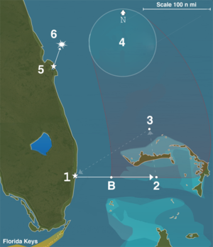 bermuda triangle map google earth