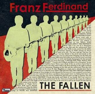 The Fallen (song) - Image: Franz Ferdinand The Fallen
