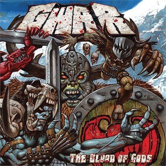 The Blood of Gods - Image: GWAR The Bloodof Gods
