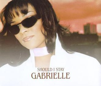 Should I Stay - Image: Gabrielle Should I Stay (CD 1)