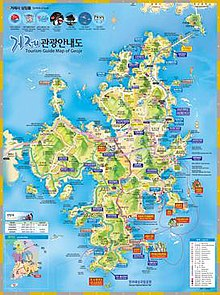 Geoje Island South Korea Map