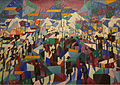 Gino Severini, 1911, Le Boulevard, oil on canvas, 63.5 x 91.5 cm, Estorick Collection, London.jpg