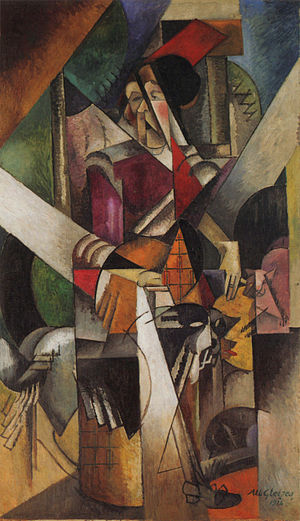 Woman with Animals - Image: Gleizes Art
