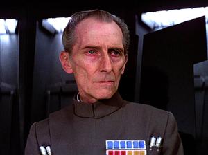 Grand Moff Tarkin - Peter Cushing as Grand Moff Tarkin in Star Wars.