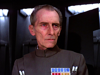 Grand Moff Tarkin - Peter Cushing as Grand Moff Tarkin in Star Wars.