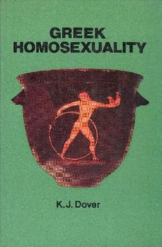 Greek Homosexuality (book) - Cover of the first edition