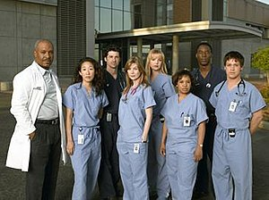 A Hard Day's Night (Grey's Anatomy) - Image: Grey's Anatomy Season 1 Cast
