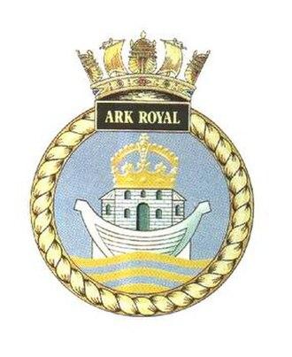 HMS Ark Royal (R07) - Ship's Badge