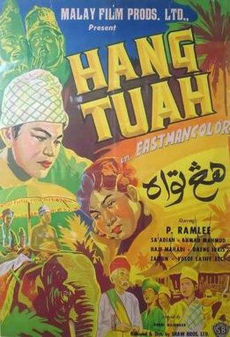 Hang Tuah (film) - The one-sheet for Hang Tuah.
