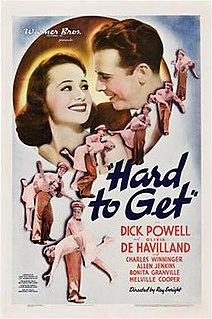 <i>Hard to Get</i> (1938 film) 1938 film by Ray Enright