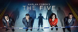 The Five (TV series) - Image: Harlencobenthefive