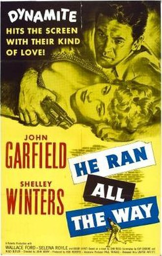 He Ran All the Way - Theatrical release poster