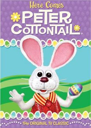 Here Comes Peter Cottontail - Image: Here Comes Peter Cottontail DVD cover