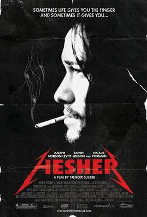 Hesher (film) - Theatrical release poster