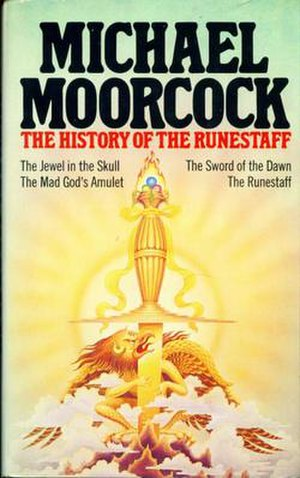 The History of the Runestaff - Dust-jacket from the first edition