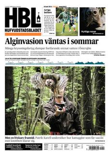 <i>Hufvudstadsbladet</i> Swedish language newspaper published in Helsinki, Finland since 1864