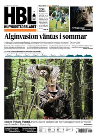 Hufvudstadsbladet - Image: Hufvudstadsbladet