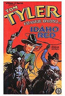 <i>Idaho Red</i> 1929 film directed by Robert De Lacey