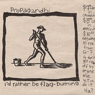 I'd Rather Be Flag-Burning - Image: Idratherbeflagburnin g