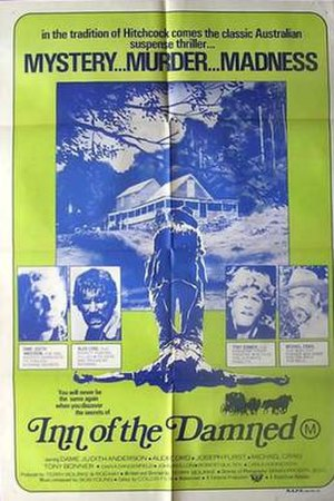Inn of the Damned - Theatrical release poster