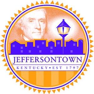 Jeffersontown, Kentucky - Image: Jeffersontown KY City Seal