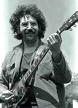 Jerry Garcia in 1969