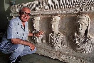 Khaled al-Asaad Syrian archeologist