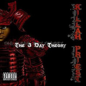 The 3 Day Theory - Image: Killah Priest 3DT