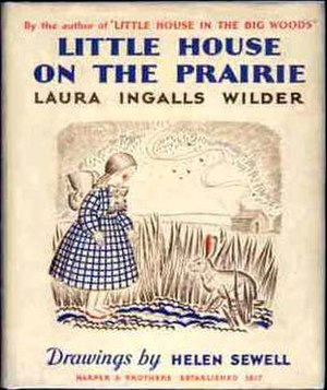 Little House on the Prairie (novel) - Image: L Hbook Cover