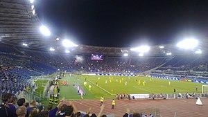 2012–13 NK Maribor season - Lazio and Maribor at Stadio Olimpico on 4 October 2012