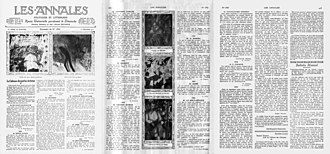 """Du """"Cubisme"""" - Les Annales politiques et littéraires, Le Cubisme devant les Artistes, 1 December 1912. This is a three-page article in which various critics express their often severe opinions on Cubism, Futurism and the underlying theory presented in Du """"Cubisme"""". On the third page Albert Gleizes responds in defense of the new art. (In French)"""